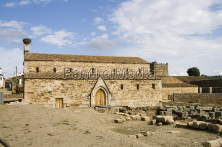 palaeo christian basilica cathedral in idanha