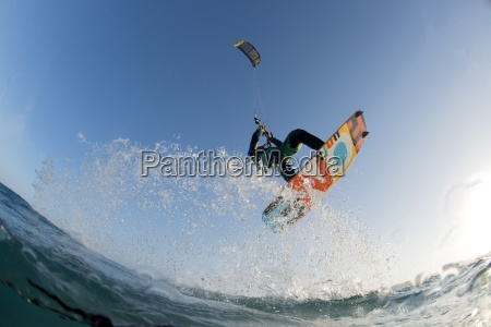 kite surfing on red sea coast