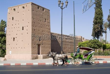 ramparts part of city walls marrakech