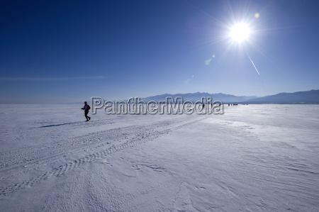 laeufer im 10 baikal ice marathon