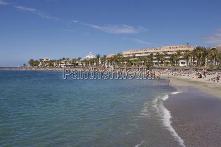 playa de las vistas los cristianos