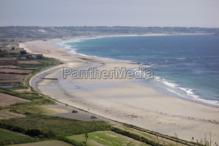 beaches on st ouens bay jersey