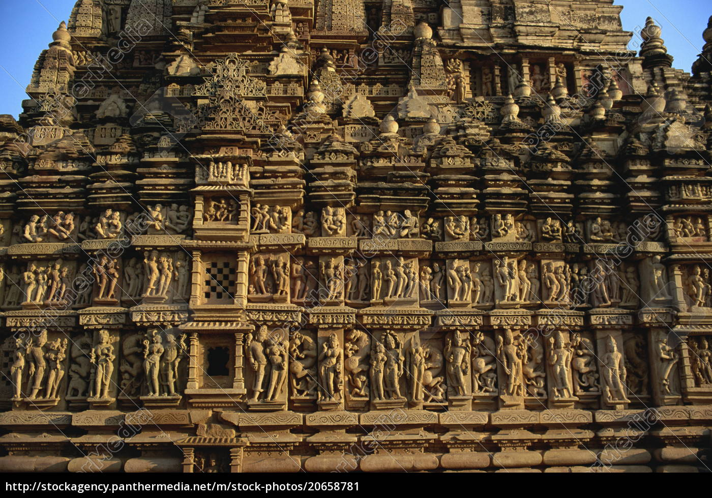 detail, der, erotischen, dekoration, auf, tempel - 20658781