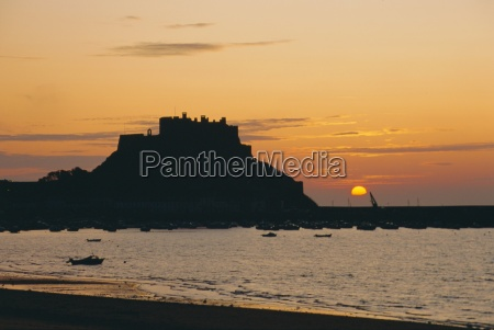 view to mont orgueil at suise