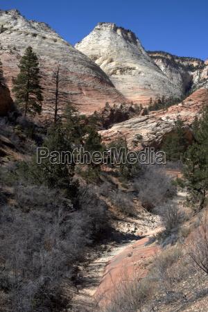 zion canyon national park utah united