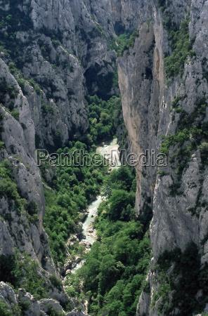 grand canyon of the verdon river