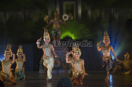angkor wat temple at night lit