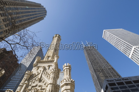 the water tower chicago illinois united