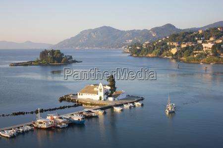 view to the monastery of panagia