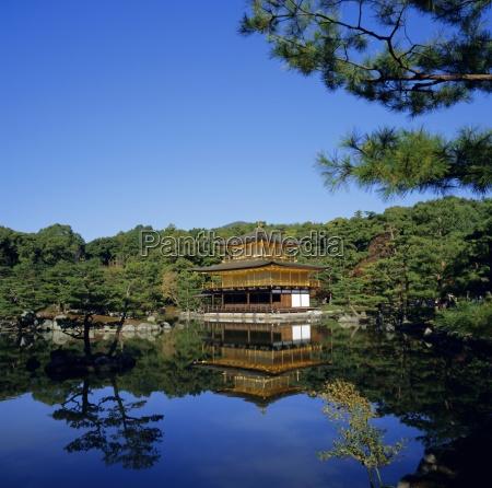 kingkaku ji golden temple original built