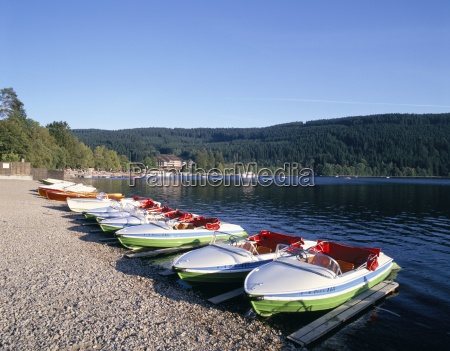 lake titisee black forest baden wurttemburg