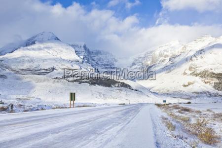 fahrt reisen farbe nationalpark horizontal kanada
