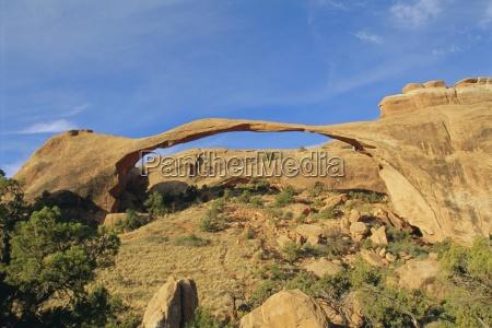 landscape arch arches national park utah