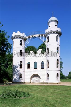 peacock island palace berlin germany europe