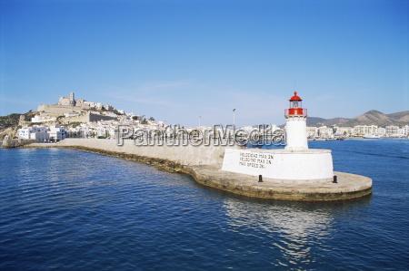 harbour eivissa ibiza balearic islands spain