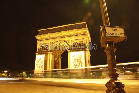 arc de triomphe and place charles