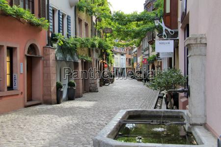 konvikstravue old town freiburg baden wurttemberg