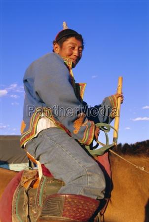 nomad on horseback naadam festival