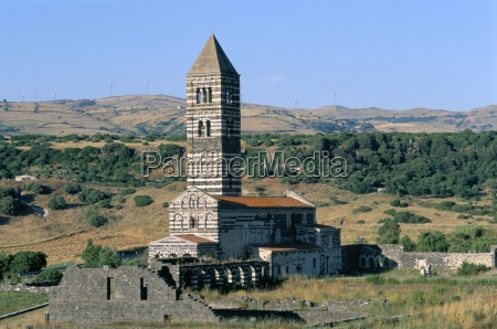 santa trinita di saccargia church sassari