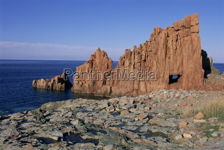 les roches rouges red rocks arbatax