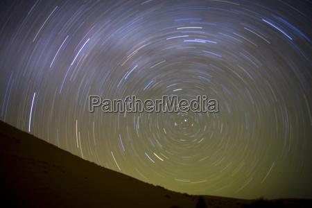 stern schleppt die rotation der erde