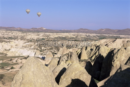 valley of goreme central cappadocia anatolia