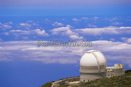 astrophysic observatory situated near roque de