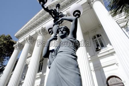 fahrt reisen kunst statue lichter horizontal