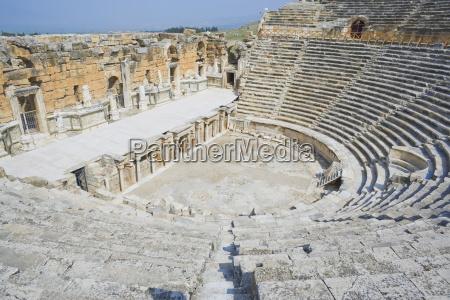 roman amphitheater hierapolis pamukkale unesco world