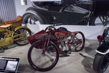 red 1920 indian daytona racer motorrad