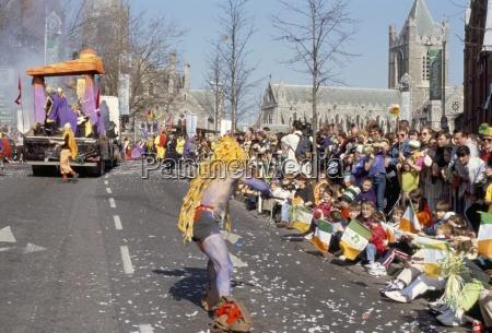 st patricks parade patrick street dublin