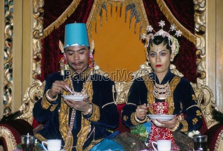 traditionelle ehe place du kraton jogyakarta