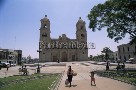 cathedral in tacna near the border
