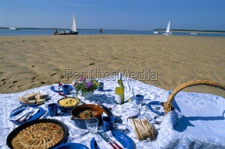 picnic on the banc du pecheur