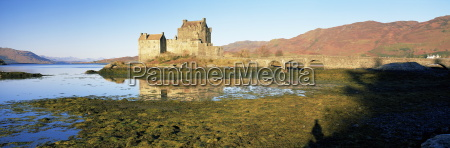 eilean donan castle dornie highlands scotland