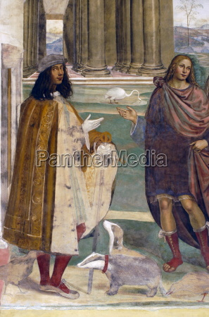 frescoes, in, cloister, by, high, renaissance - 20702339