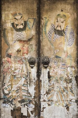 doorway cheng kan village anhui province