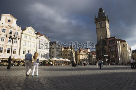 town hall old town square old