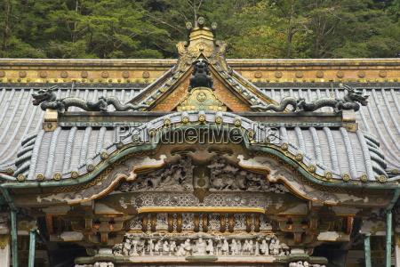 main hall tosho gu shrine nikko
