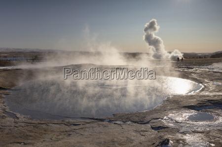 the great geyser geysir now dormant