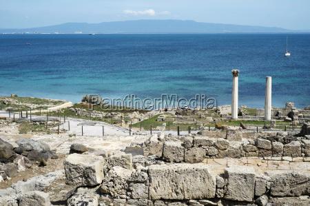 the phoenician roman port of tharros