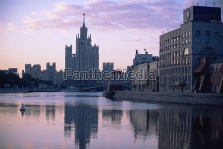 moscow river moscow russia europe