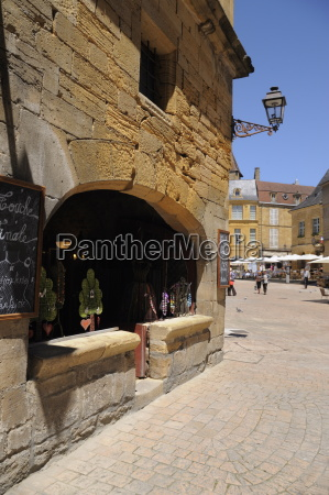 medieval merchants house in the old