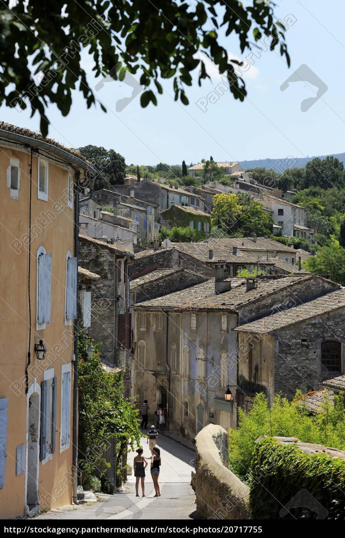 traditionelle, alte, steinhäuser, les, plus, beaux, villages - 20717755