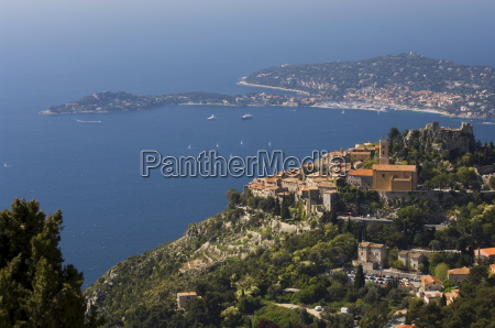 eze village and cap ferrat alpes