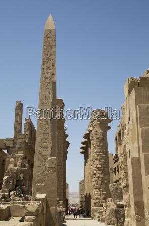 obelisk of tuthmosis karnak temple luxor
