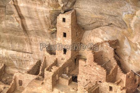 anasazi ruins square tower house dating