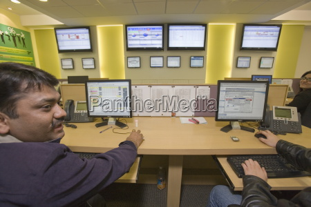 automatisiertes call center vcustomer company delhi