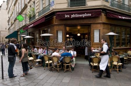 les philosophes brasserie rue vieille du