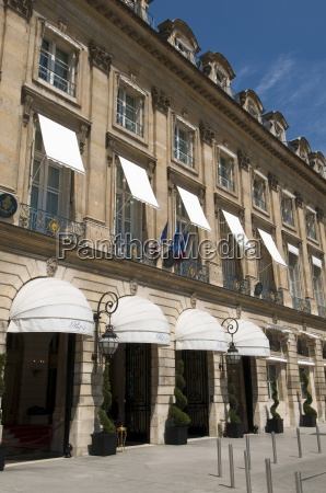 hotel ritz place vendome paris france